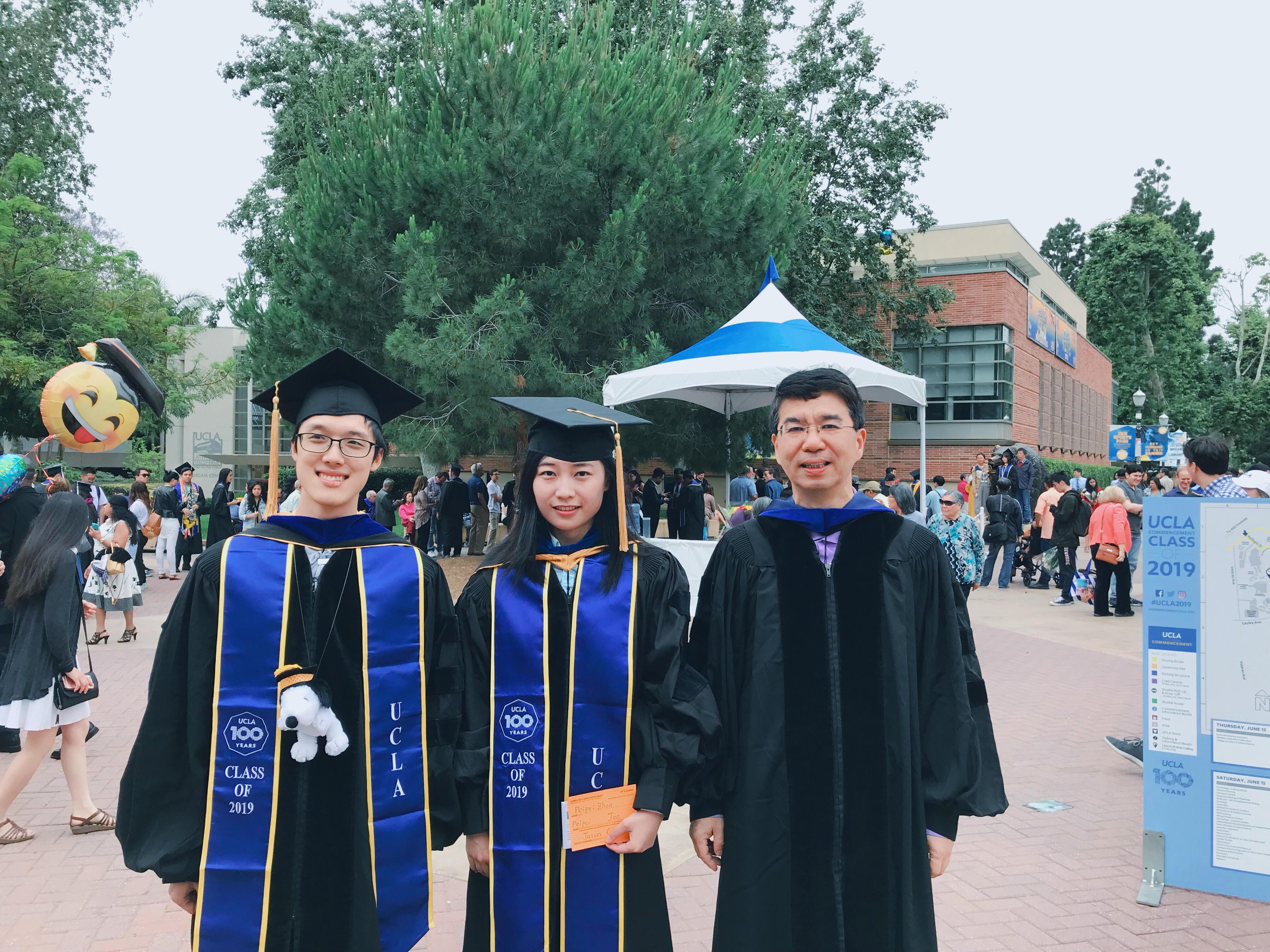 Cody Hao Yu, Peipei Zhou and Prof. Cong